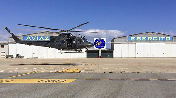 L'AB 412 dell'AVES all'Orsa Maggiore