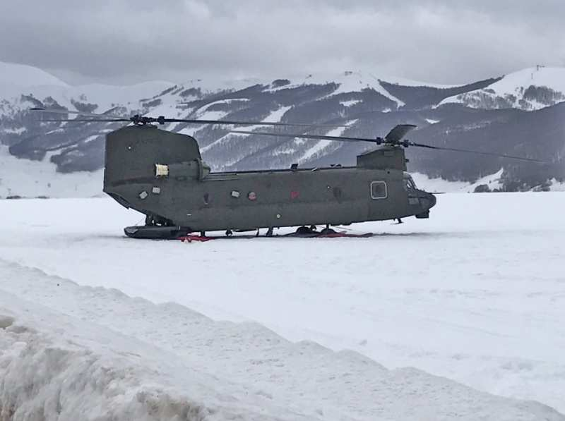 """Un Elicottero Recupera Dall Oceano : Un ch f del ° """"antares recupera l elicottero"""