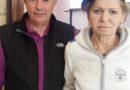 La socia Maria Concetta Micheli, tra i bambini di Acquasanta Terme