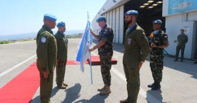 """Libano: Cambio al vertice della Task Force """"ITALAIR"""" di UNIFIL"""