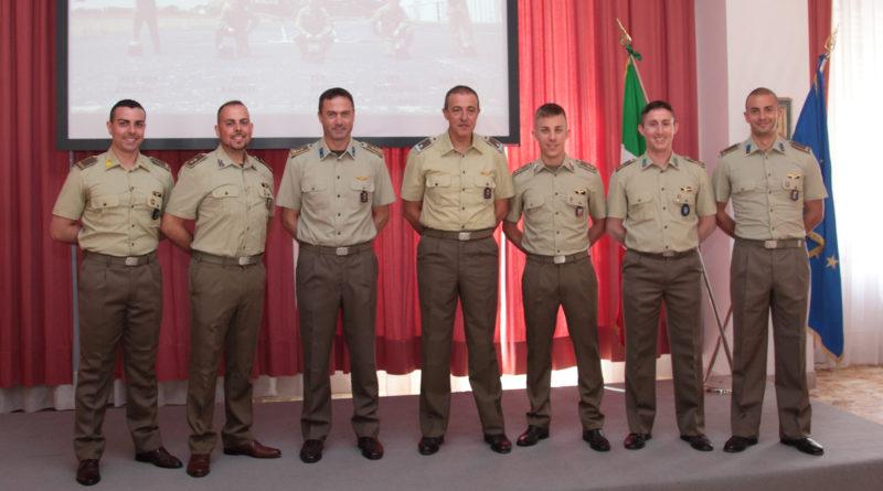 Cinque nuovi piloti AVES