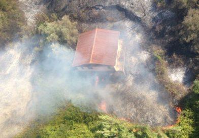 Il CH-47 interviene per antincendio in Umbria e Lazio
