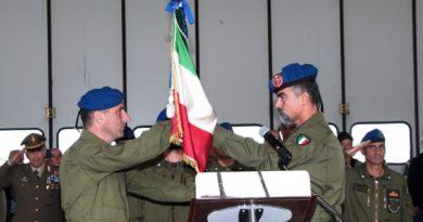 """Cambio al comando del 1° """"Antares"""""""