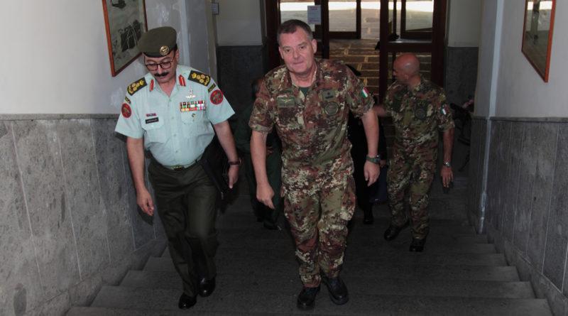 Delegazione dell'Esercito Giordano in visita al Comando Aviazione dell'Esercito