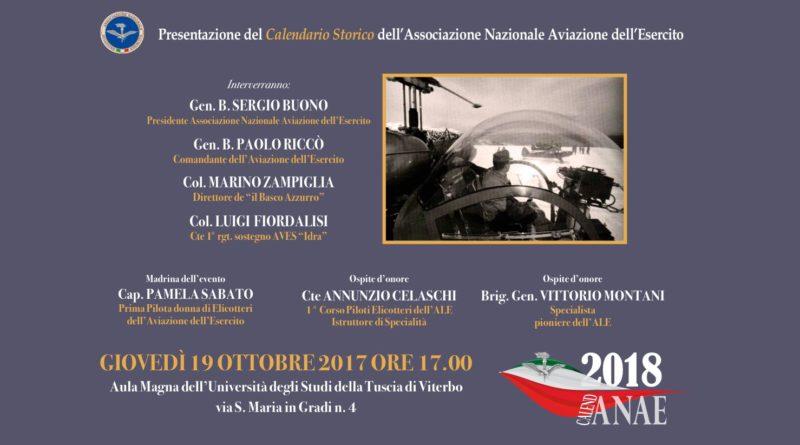 Calendario ANAE 2018