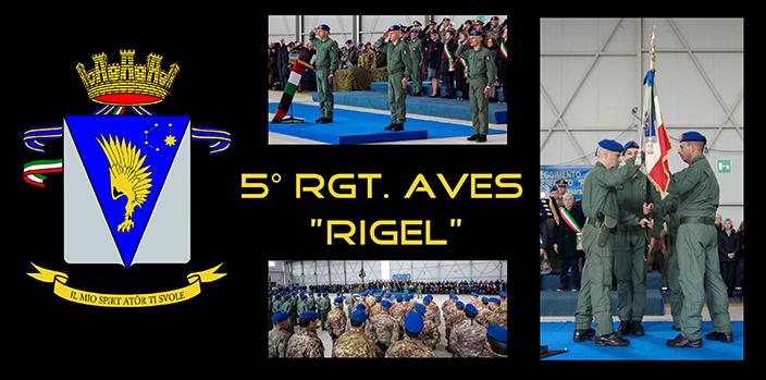 """Cambio del Comandante al 5° """"Rigel"""""""
