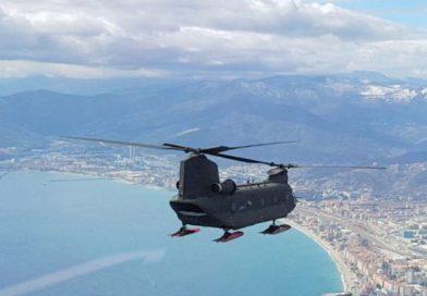 L'Aviazione dell'Esercito vola ai Casta