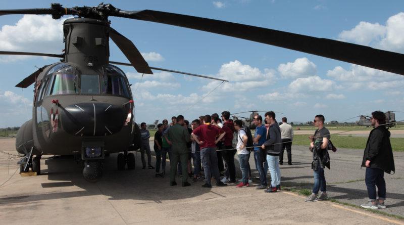 Da Padova a Viterbo: ascuola con l'Aviazione dell'Esercito