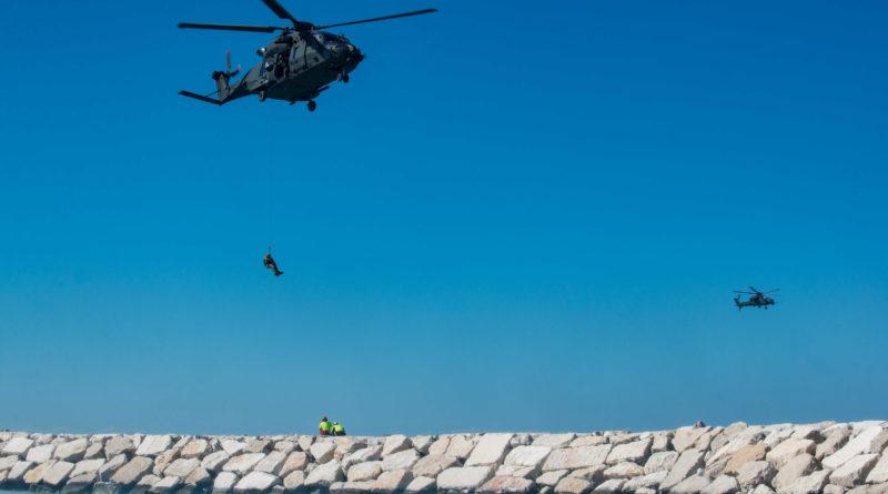 """L'Esercito Italiano componente del sistema protezione civile in """"EmergeRimini""""."""