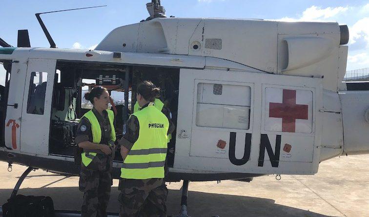 La Task Force ITALAIR salva la vita a un casco blu
