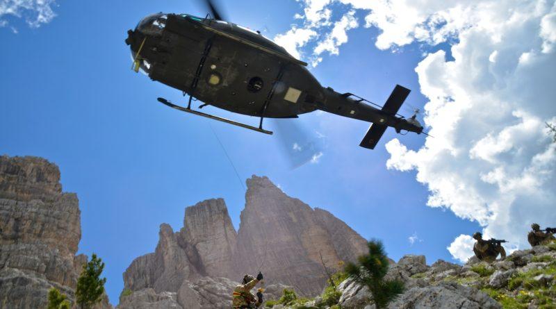 5 Torri 2018: esercitazione alpinistica internazionale