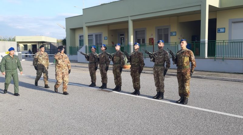 "Il Comandante ACISMOM in visita al 2° ""Sirio"""