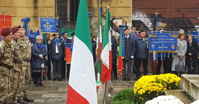 """Commemorazione """"LUPI"""" della Brigata Toscana"""