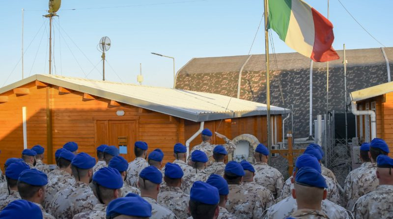 "L'ATG ""GRIFFON"" RICORDA I CADUTI IN TERRA IRACHENA"