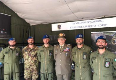 L'Aviazione dell'Esercito alla 92^ Adunata degli Alpini