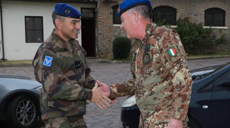 L' AVIAZIONE DELL'ESERCITO ITALIANA ACCOGLIE QUELLA FRANCESE