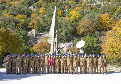 Il Reparto Comando e Supporti Tattici del COMAVES Visita il Bunker Soratte
