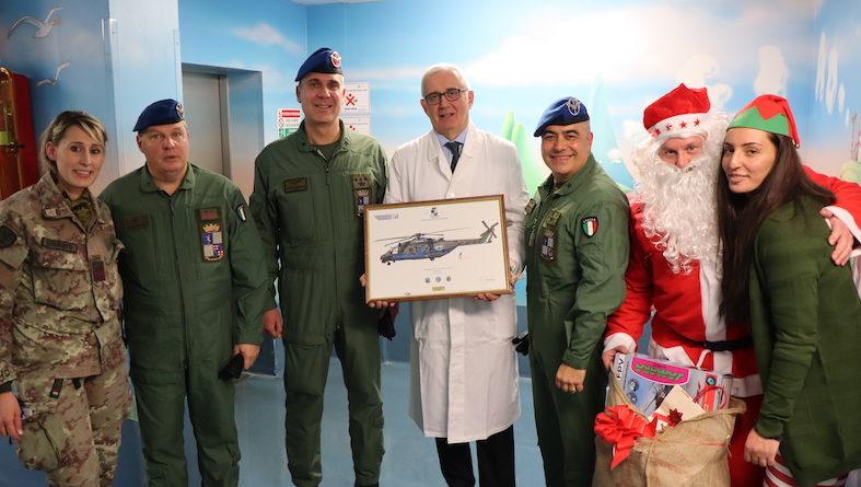 "Babbo Natale ""atterra"" al Sant'Orsola"