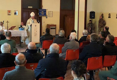 Il 5° Rigel Festeggia la Madonna di Loreto