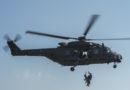 Un elicottero del 5° Rigel recupera 4 escursionisti rimasti isolati